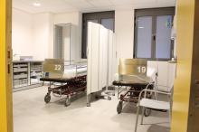 consultes de les noves instal·lacions del servei d'Urgències de l'Hospital Trueta